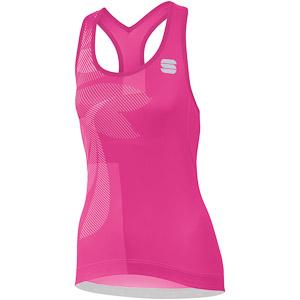 Sportful Oasis dámsky top ružový/biely