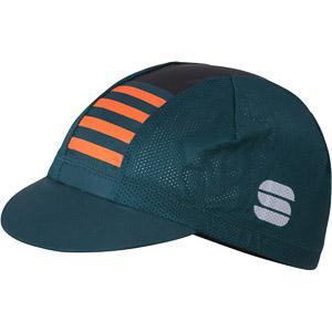 Sportful Mate čiapka morský mach/čierna/oranžová