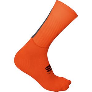 Sportful Evo ponožky červené/oranžové SDR/antracitové