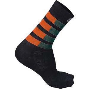 Sportful Mate ponožky morský mach/oranžové SDR/čierne