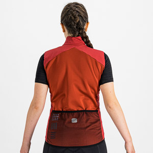 Sportful Giara Layer dámska vesta tmavoružová