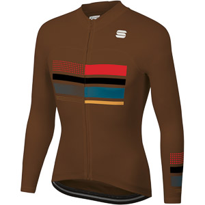Sportful Wire Thermal dres hnedý