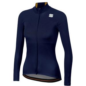 Sportful Bodyfit Pro Thermal dámsky dres modrý/zlatý