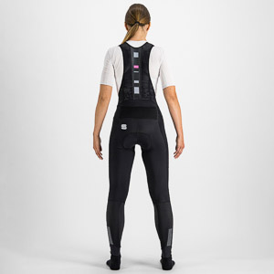 Sportful Bodyfit Pro dámske nohavice s trakmi čierne