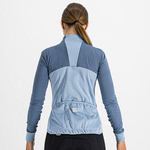 Sportful KELLY THERMAL dámsky dres modrosivý