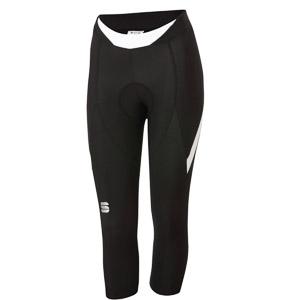 Sportful Neo dámske 3/4 cyklo nohavice čierne/biele
