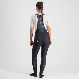 Sportful Classic dámske nohavice s trakmi čierne