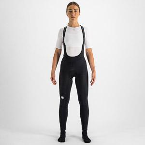 Sportful CLASSIC dámske nohavice s trakmi čierne/modrosivé