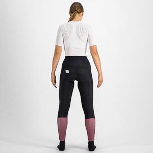 Sportful CLASSIC dámske nohavice čierne/mauve