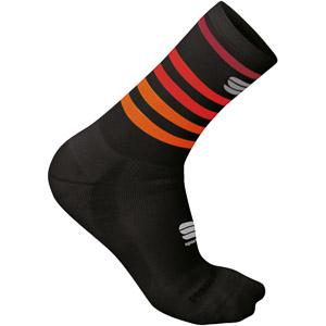 Sportful Winter ponožky čierne/červené