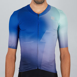 Sportful Bomber dres zelený/modrý