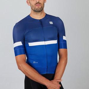 Sportful EVO cyklo dres modrý