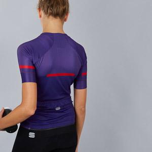 Sportful Evo dámsky dres fialový
