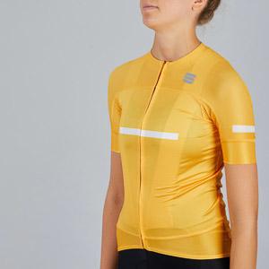 Sportful Evo dámsky cyklo dres žltý