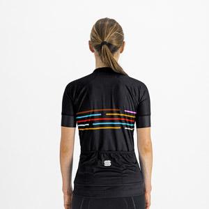Sportful Vélodrome dámsky dres s krátkym rukávom čierny
