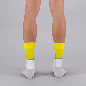 Sportful Light ponožky žlté fluo