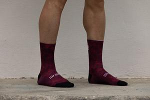 Sportful Escape ponožky tmavočervené