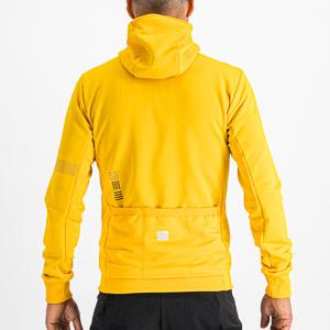 Sportful Giara cyklistická mikina žltá