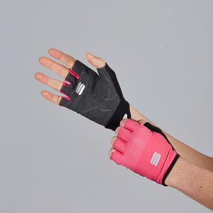 Sportful Race dámske rukavice ružové