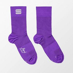 Sportful Matchy dámske ponožky fialové