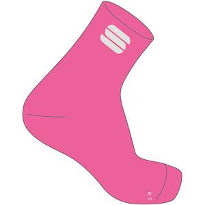 Sportful Matchy dámske cyklistické ponožky ružové