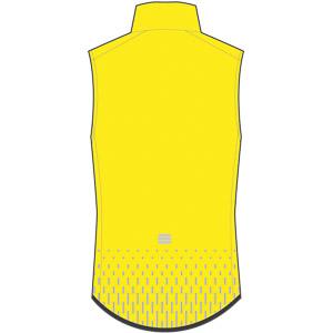 Sportful Kid Reflex vesta žltá fluo
