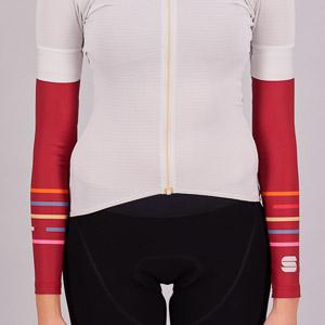 Sportful Thermodrytex dámske návleky na ruky červené/multikolor