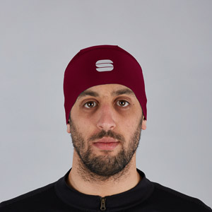 Sportful Matchy čiapka pod helmu tmavočervená