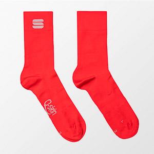 Sportful Matchy ponožky červené