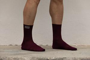 Sportful Matchy ponožky vínovočervené