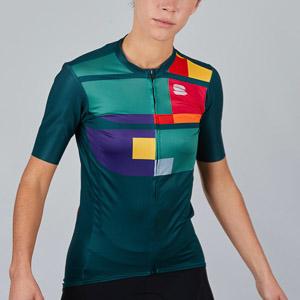 Sportful Idea dámsky dres tmavozelený