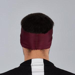 Sportful Matchy čelenka tmavočervená