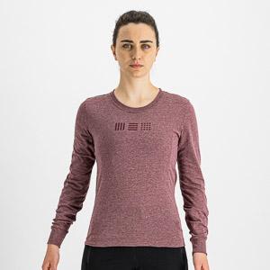 Sportful GIARA dámske tričko s dl. rukávom červené
