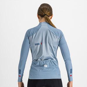 Sportful BODYFIT PRO THERMAL dámsky dres modrosivý