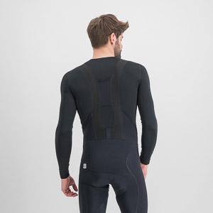Sportful MIDWEIGHT LAYER tričko s dl. rukávom čierne