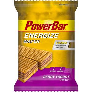 PowerBar Energize Wafer 40g Lesné ovocie-jogurt