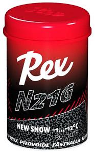 Rex stúpací vosk N21G čierný nový sneh -1...-12 C