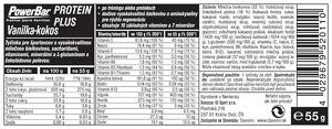 PowerBar ProteinPlus 30% tyčinka 55g Vanilka-Kokos