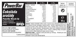 PowerBar ProteinPlus 33% tyčinka čokoláda-arašidy