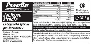 PowerBar Natural Energy tyčinka 40g jablková štrúdľa
