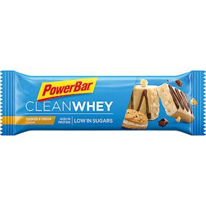 PowerBar Clean Whey Protein. tyčinka 45g Cookies/Smotana