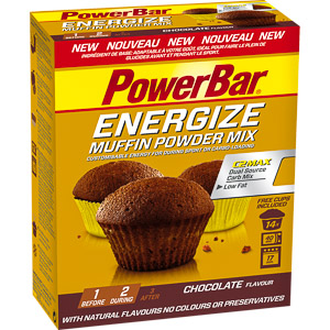 PowerBar Energize Muffin, čokoláda