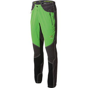 Karpos ROCK Nohavice zelené tmavosivé