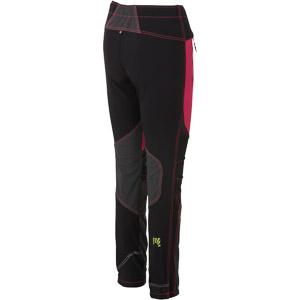 Karpos ROCK Dámske nohavice ružové/čierne/tmavosivé
