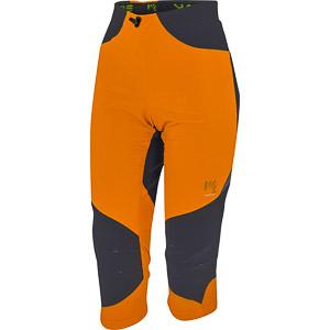 Karpos Cliff 3/4 lezecké nohavice dámske oranžové/čierne