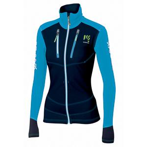 Karpos ALAGNA dámska bunda modrá/tmavomodrá