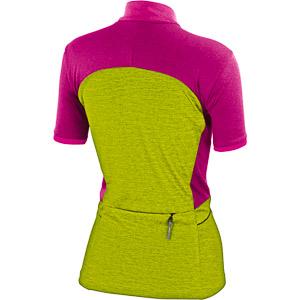 Karpos RAPIDO MTB dres dámsky žltý/ružový