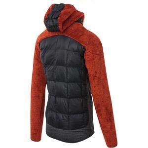 Karpos MARMAROLE bunda oranžová/čierna