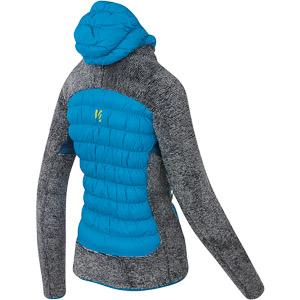 Karpos MARMAROLE dámska bunda modrá/tmavosivá
