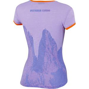 Karpos PROFILI dámske tričko fialové